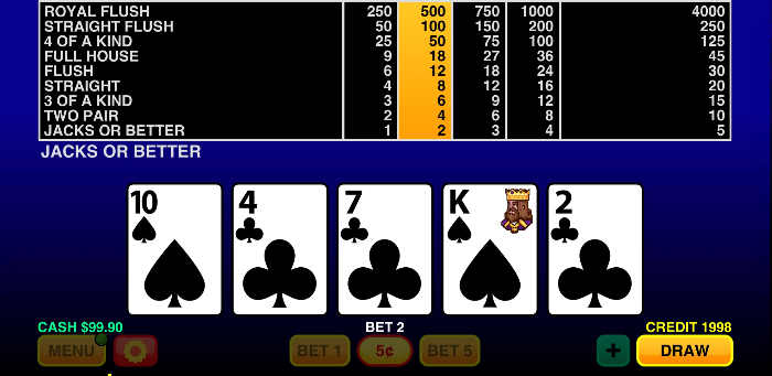 videopoker best of jacks android