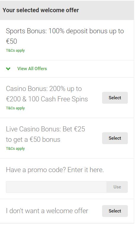 Welkomstbonus bij Unibet Poker