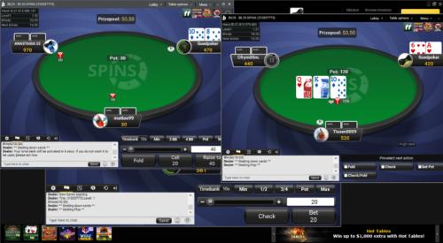 multitable bij Bwin Poker